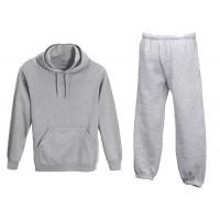 Trenirka, vrhnji del s kapuco, hlače brez patenta  ali  hlače s patentom