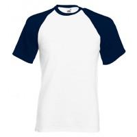 Majica Baseball kratek rokav, originalna kakovost, velik izbor barv