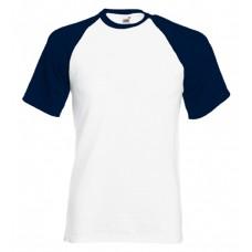 Majica Baseball kratek rokav, originalna kakovost, velik izbor barv, zelo velik delež bombaža
